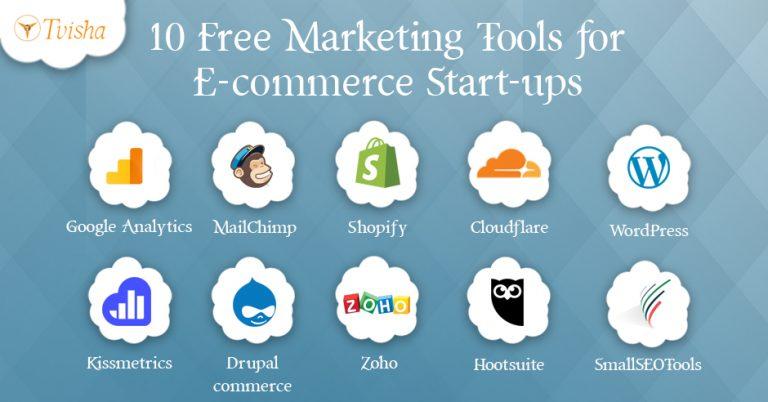 10 Free Web-Based ecommerce business Tools for Start-ups