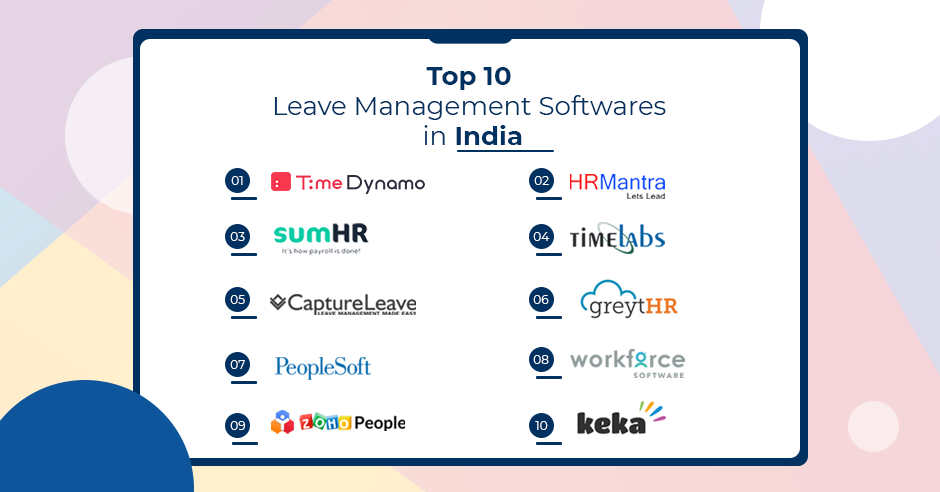 Top 10 Leave Management Software in India - Leave Management