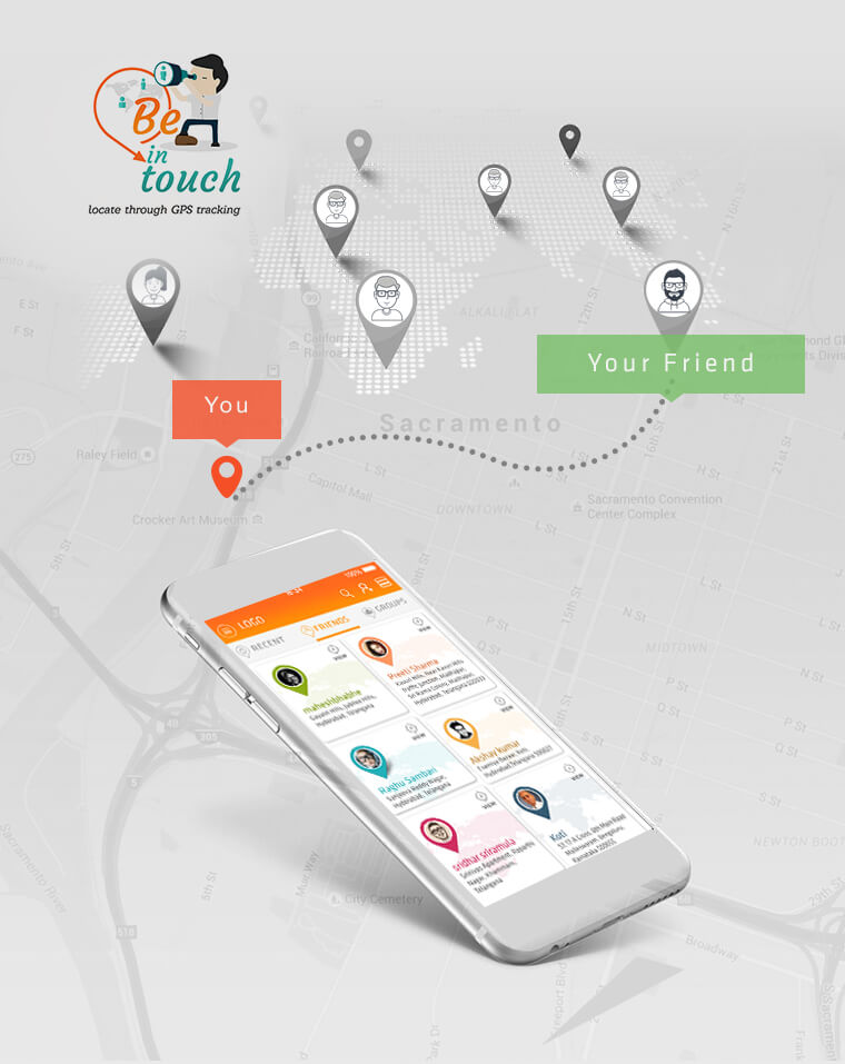 Tracking App Developed by Tvisha Technologies